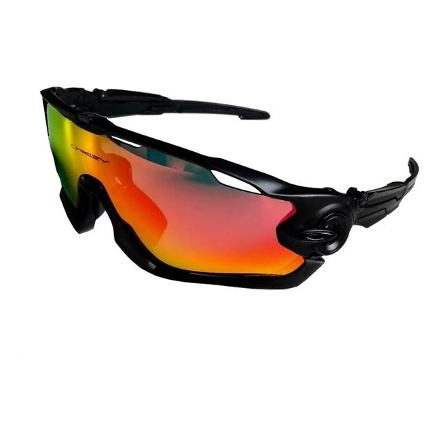 b1bb428dd0 Óculos Ciclismo Oakley Jawbreaker 5 Lentes Fumê Br Pr | ventro