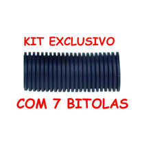 Espaguete Corrugado Kit Com 35 Metros Anti Chama