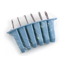 Picoleteira - 1 Fôrma Para Picolé Caseiro Plástico 6 Picolés