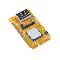 Placa Teste Debug Card Pc Analyser Notebook Pci-e Mini Pci