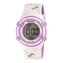 Relógio Feminino Mormaii Casual Yp9465/8g - Branco Original