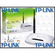 Roteador Tp-link Tl-wr740n Wireless N 5dbi 150mpbs