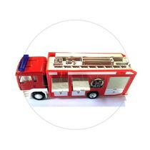 1:64 - California Toys Caminhão Man Tgs Bombeiro