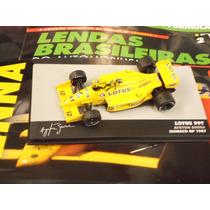Lendas Brasileiras Ed. 02 Ayrton Senna Lotus 99 Tt