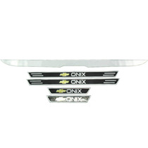 Kit Filete Porta Malas Soleira Chevrolet Onix