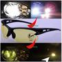 Óculos De Sol E Visão Noturna P/ Dirigir A Noite Ciclismo
