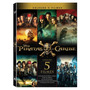 Coleção Piratas Do Caribe - 5 Discos Completa