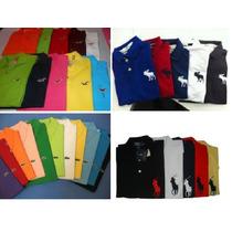 Kit 10 Camisa Polo Masculina Atacado / Várias Marcas