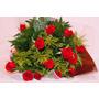Buquê Especial De 12 Rosas Vermelhas