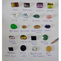 Pedras Preciosas Lote 362 Cts Esmeralda Topazio Ametista....