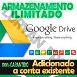 Armazenamento Ilimitado Na Sua Conta Atual Google Drive