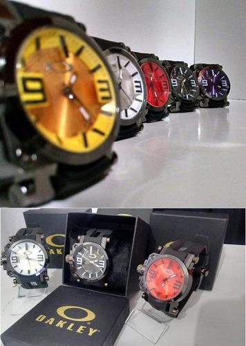 Relogio Masculino Oakley Gearbox Titanium C  Caixa Promoção - R  36 ... 9c07c4c503