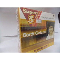 Box Com 3 Cd Barto Galeno - Super 3 - Popular Romantico