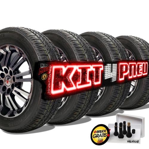 comprar kit 4 pneu aro 14 175 65 r14 strong remold 5 anos garantia apenas r 679 00 armaz m. Black Bedroom Furniture Sets. Home Design Ideas