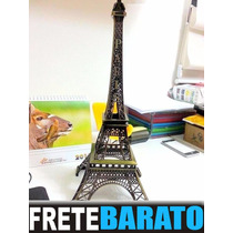 Kit 25 Torres Eiffel Em Miniatura - 26 Cm Replica - Lindas!