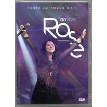 Rose Nascimento Dvd Ao Vivo Tente Um Pouco Mais Original