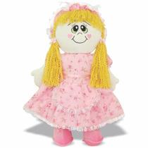 Pelúcia Boneca Camponesa - Boneca De Pano - Soft Toys