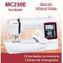 Bordado Janome Mc230 E