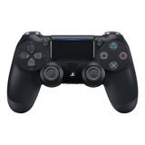 Controle Joystick Sem Fio Sony Dualshock 4 Jet Black