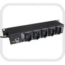 Ponto Distribuição Ac Evolution 5 Port. Snmp 110/220vac Volt