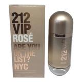 Perfume 212 Vip Rose 80 Ml - Original