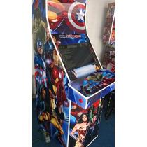 Máquina Multijogos Avançada Led 22 Arcade C/ Moedeiro
