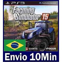 Farming Simulator 15 Digital Ps3 Psn Português