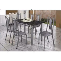 Mesa Grecia Com 6 Cadeiras 12x Sem Juros