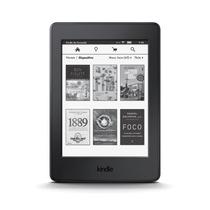 E-reader Kindle Paperwhite 3g Wifi 4 Gb Tela Com Definição D