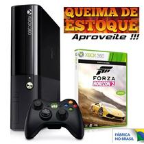 Xbox 360 500gb Nacional + Forza Horizon Novo Lacrado
