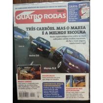 Quatro Rodas 457 Ago/98 Marea/ Vectra/ Civic/ Palio Picape