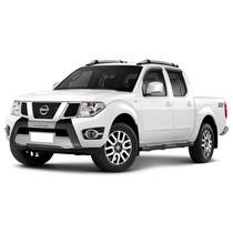 Overbumper Tg Poli Nissan Frontier 2013 (preto C/ Aluminium)