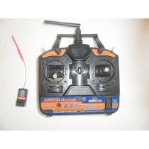 Rádio Hobbyking 2.4ghz 6ch Canais Hk-t6a V2
