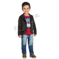 Blazer Veludo Infantil