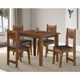 Sala Jantar 4 Cadeiras Nicoli Soneto Móveis Ic