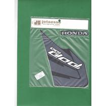 Kit Adesivos Honda Pop 100 2011 Roxa