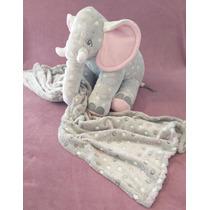 Almofada Elefante 65 Cm Capa-removível Sem Manta