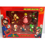Kit Super Mario Bros Miniatura Colecionável Presentear