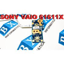 Placa Power On Off Sony Vaio 61611x Vpcee Séries Dane7tb16r0