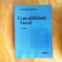 Livro Contabilidade Geral - Hilário Franco