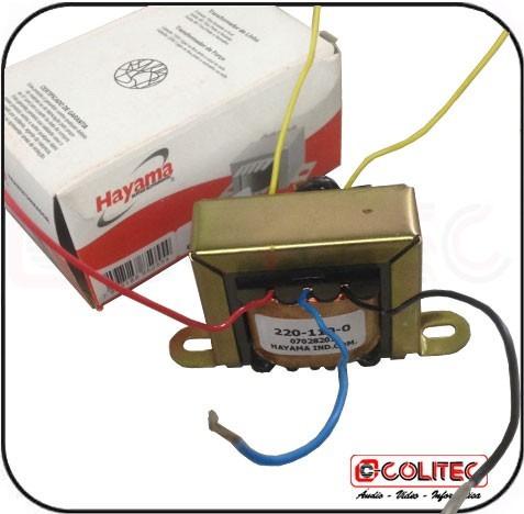 Trafo transformador entrada 110v 220v saida 12v 1a r - Transformador 220 a 12v ...