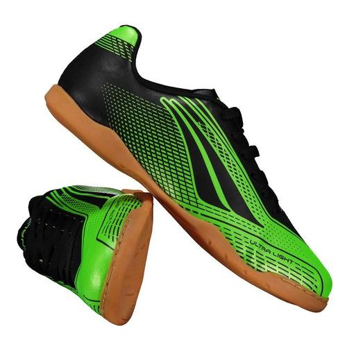 Chuteira Penalty Storm Speed Vii Futsal Juvenil Verde b649497e0ff97