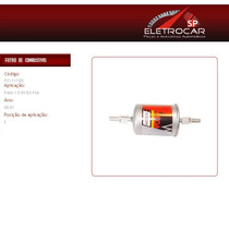 Filtro De Combustível Fiat Palio 1.0 8v Ex Fire 00 A 01
