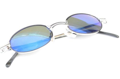 Óculos Pequeno Barato 1980 Vintage Retro Prata Espelhado F23 20191e317d