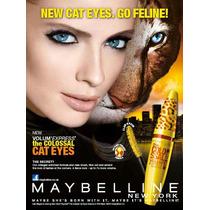 Máscara Rímel Maybelline Volume Cat Eye Frete Grátis !