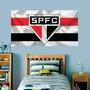 Painel Adesivo De Parede São Paulo Futebol Tamanho 70x45cm Original