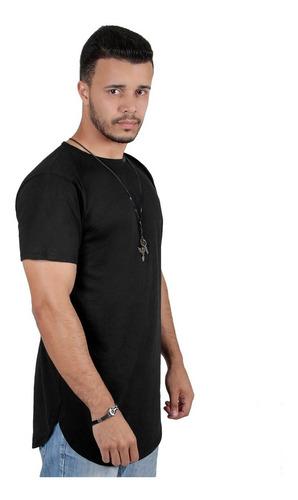 d1c9c7929 Kit C/7 Roupas Camisa Masculinas Camiseta Alongada Oversized