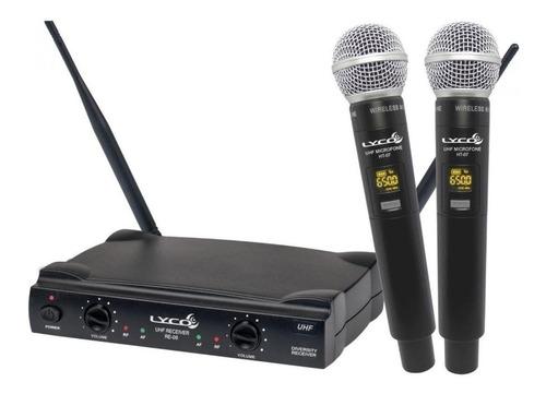 Microfones Sem Fios Lyco Uh08-mm