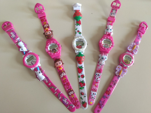 da99de2c3 Mini Relógio Infantil P/meninas A Prova D Água Kit C/5 Unids à venda em  Jardim Ana Rosa São Paulo Zona Leste São Paulo por apenas R$ 49,99 -  CompraMais.net ...
