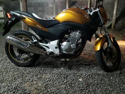 HONDA CB300R - CB 300 NAKED DOURADA